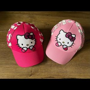 HELLO KITTY-New Light Pink OR Fuchsia Baseball Cap